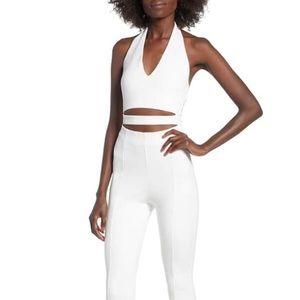 Tiger Mist white jumpsuit. Size XS NWOT.